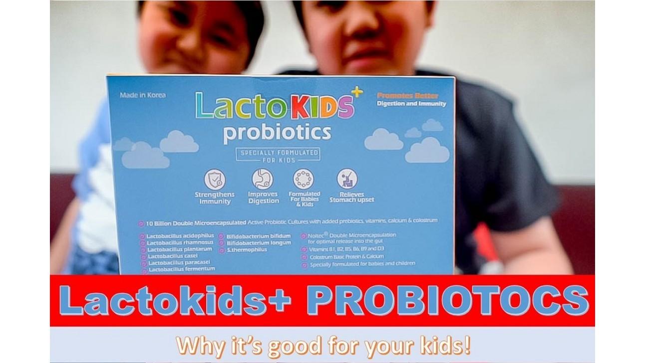 Lactokids + Probiotics Review - Wacky Duo