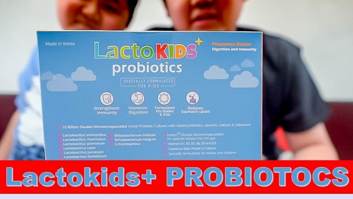Lactokids + Probiotics Review - Wacky Duo