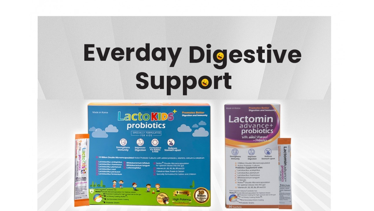 Achieve better digestion for the whole family, from kids to adults. Clinically Proven.